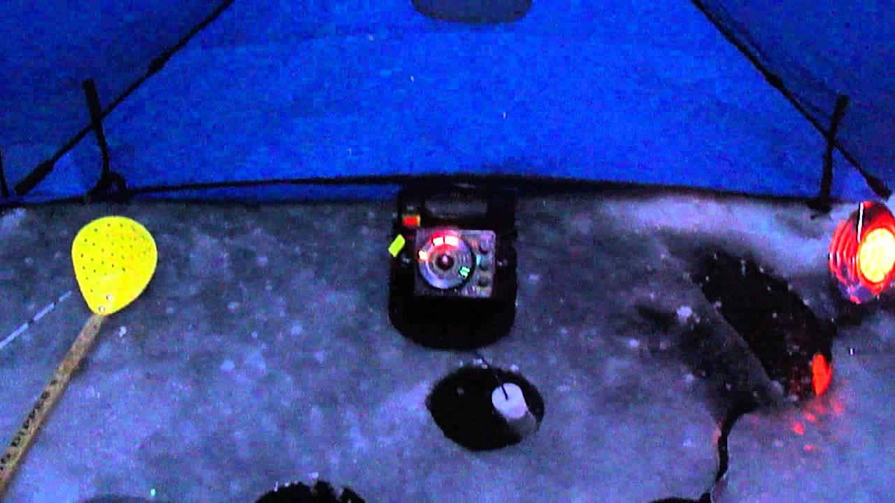 12 Volt Ice Fishing Shelter Led Lights Youtube