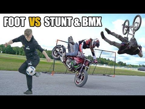 FOOT vs STUNT & BMX ! (feat. Sarah Lezito, Patrick Guimez, Gautier Fayolle)