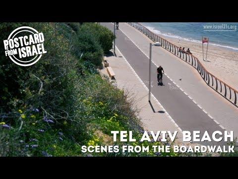 Tel Aviv Beach - Scenes from the Boardwalk