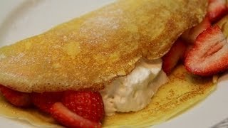 Crêpes - French Pancakes Recipe - CookingWithAlia - Episode 298