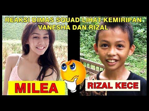 RIZAL KECE viral karena mirip MILEA (Hajar Pamuji & Dimas Squad))