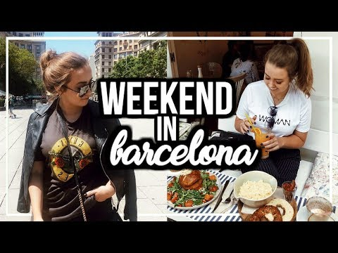 3 DAYS IN BARCELONA, SPAIN | Travel Diary