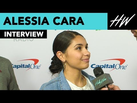 Alessia Cara Reveals Her New Years Resolution With Us!! | Hollywire