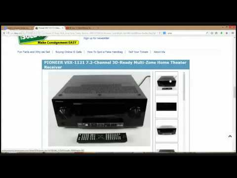 How To Make Money Selling Home Theater Receivers on eBay
