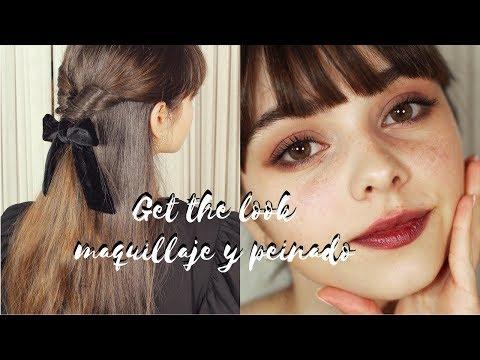 Get the look: maquillaje + peinado con lazo