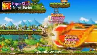 Ayumilove MapleStory Evan 1st, 2nd, 3rd, 4th Job Skill & Hyper Skills (2015)