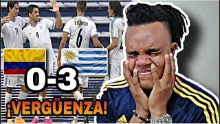 COLOMBIA vs URUGUAY (0-3) | REACCIÓN de un HINCHA | HUMILLACIÓN | ELIMINATORIAS AL MUNDIAL 2020