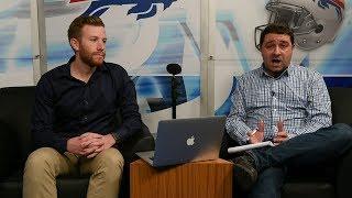 Baixar 2018 NFL Draft: Brent Axe and Matthew Fairburn's mock draft for Buffalo Bills