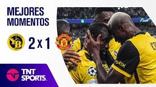GOL DE CRISTIANO Y DERROTA DEL UNITED I YOUNG BOYS 2 x 1 MANCHESTER UNITED I UEFA CHAMPIONS LEAGUE