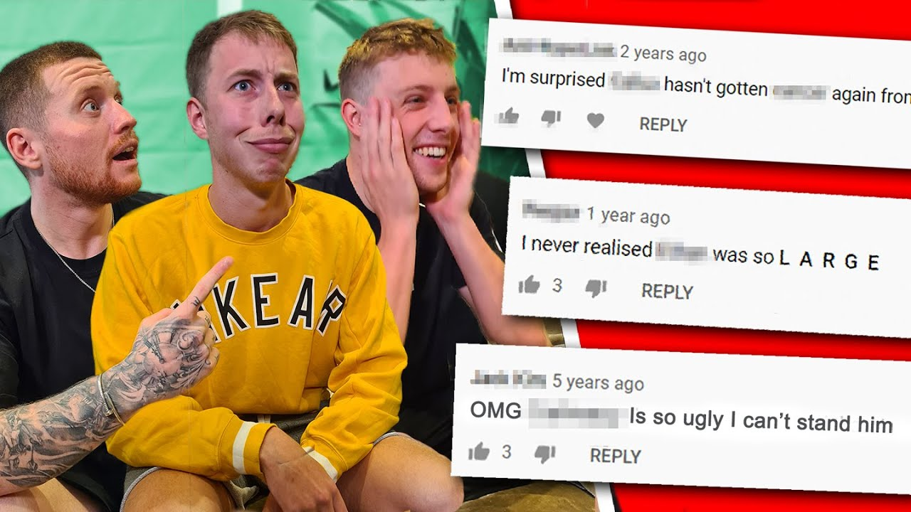 Reacting To Our HATE Comments *personal*