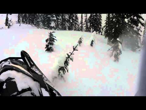 Torpy mountain sledding 2015