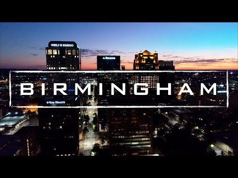 Birmingham, Alabama | 4K Drone Footage