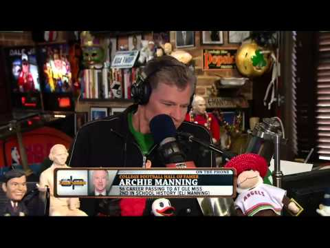 Archie Manning on the Dan Patrick Show 9/25/13