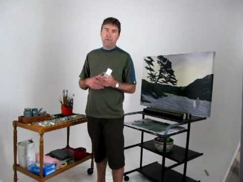 What You Need to Start Oil Painting - YouTube