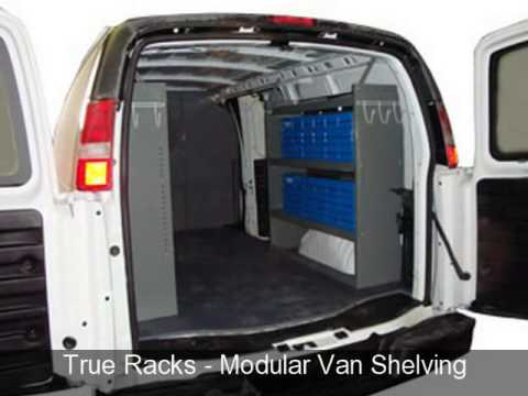a26628186e True Racks Van Shelving Storage System - YouTube
