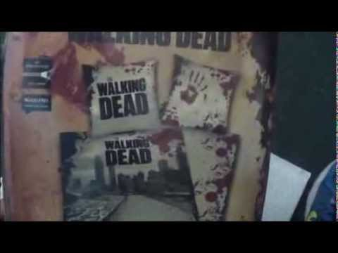 The Walking Dead Bed Sheet Covers Review Youtube
