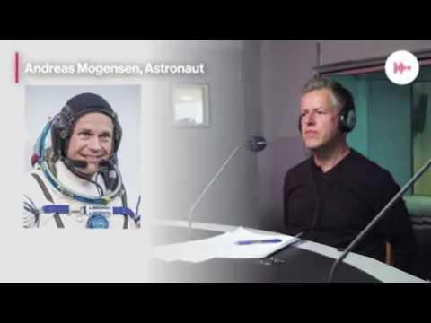 Astronaut Andreas Mogensen - Flad Jord Debat Radio24syv 🇩🇰