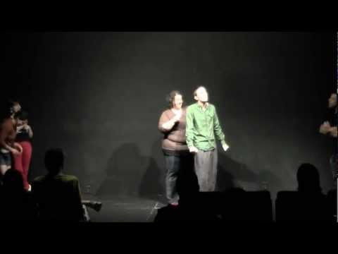 Pan Theater Improv Comedy Shows: Awkward Face Aug 11, 2012