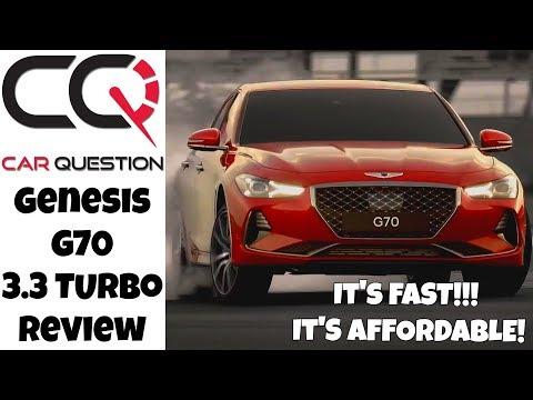 Genesis G70 3.3 T Review | It's a big WOW!
