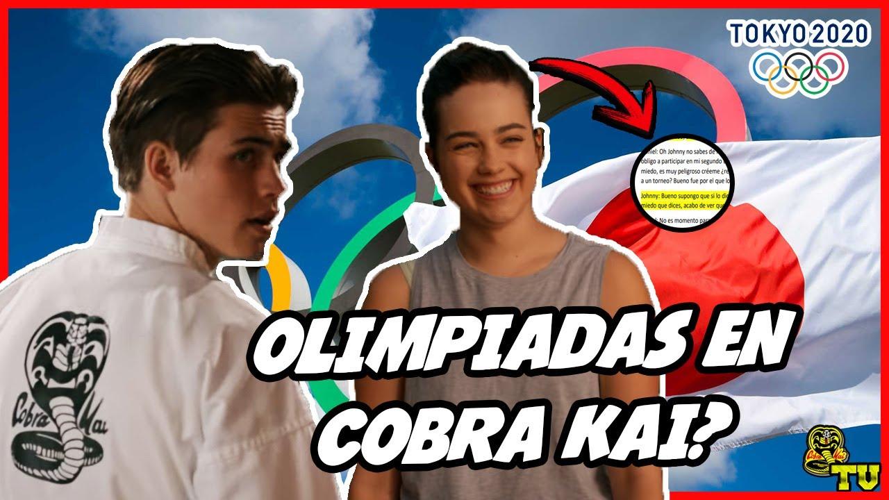 ¿Juegos Olímpicos en COBRA KAI?   TOKIO 2020 Canon   El SALTO que le hace Falta a Cobra Kai