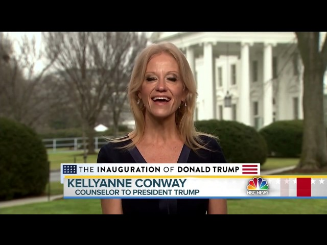 Kellyanne Conway Says Spicer Brought 'Alternative Facts'