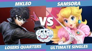 GOML 2019 SSBU - FOX | MkLeo (Joker) Vs. eU | Samsora (Peach) Smash Ultimate Tournament L. Quarters