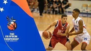 Cape Verde vs Egypt - Full Game - FIBA U16  Africa Championship 2019