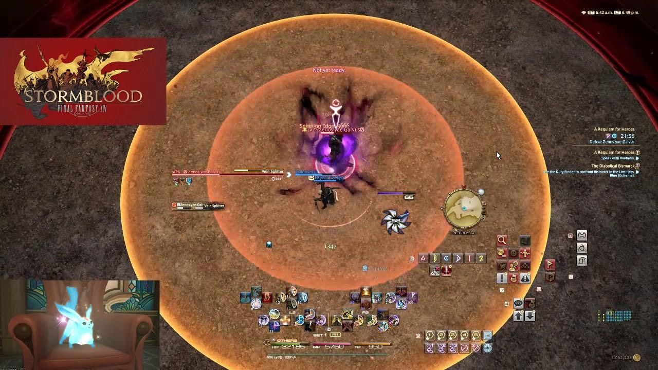 Final Fantasy XIV - A Requiem for Heroes Solo Duty (NIN)