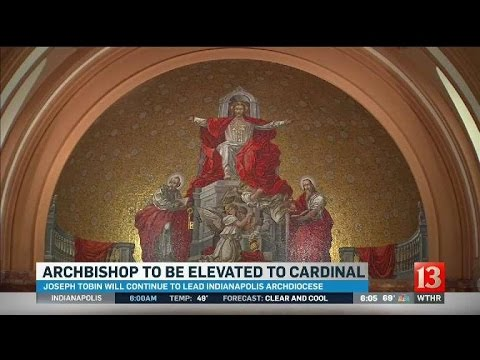Archbishop Tobin named cardinal by Pope Francis