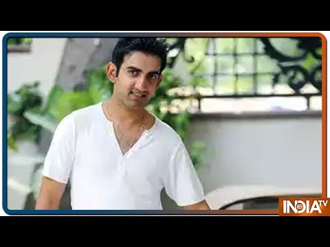 Former Cricketer Gautam Gambhir Reaches BJP Office, Likely To Join The Party