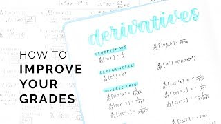 How to improve your grades -