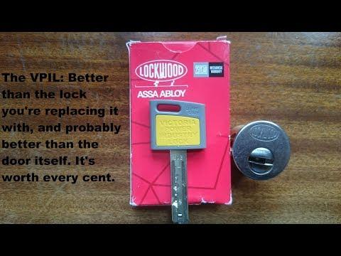 Взлом отмычками ASSA   [117] Lockwood VPIL MT5+ lock review and pick