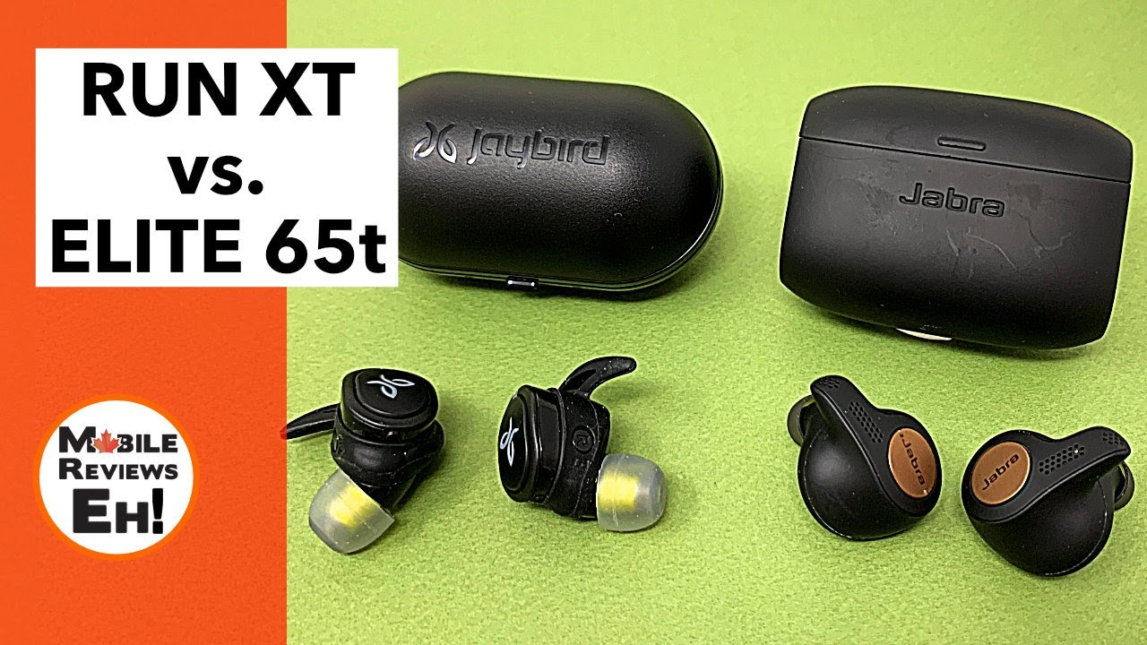 5 Differences Between The Jaybird Run Xt And Jabra Active Elite 65t Youtube
