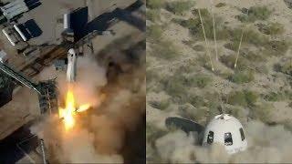Blue Origin NS-11: New Shepard launch & landing, 2 May 2019