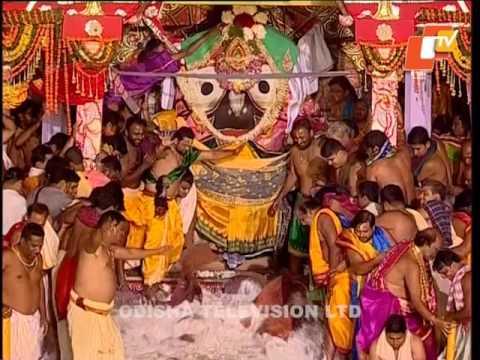 Adhara Pana Ritual of Lord Jagannath - Puri Ratha Yatra 2017