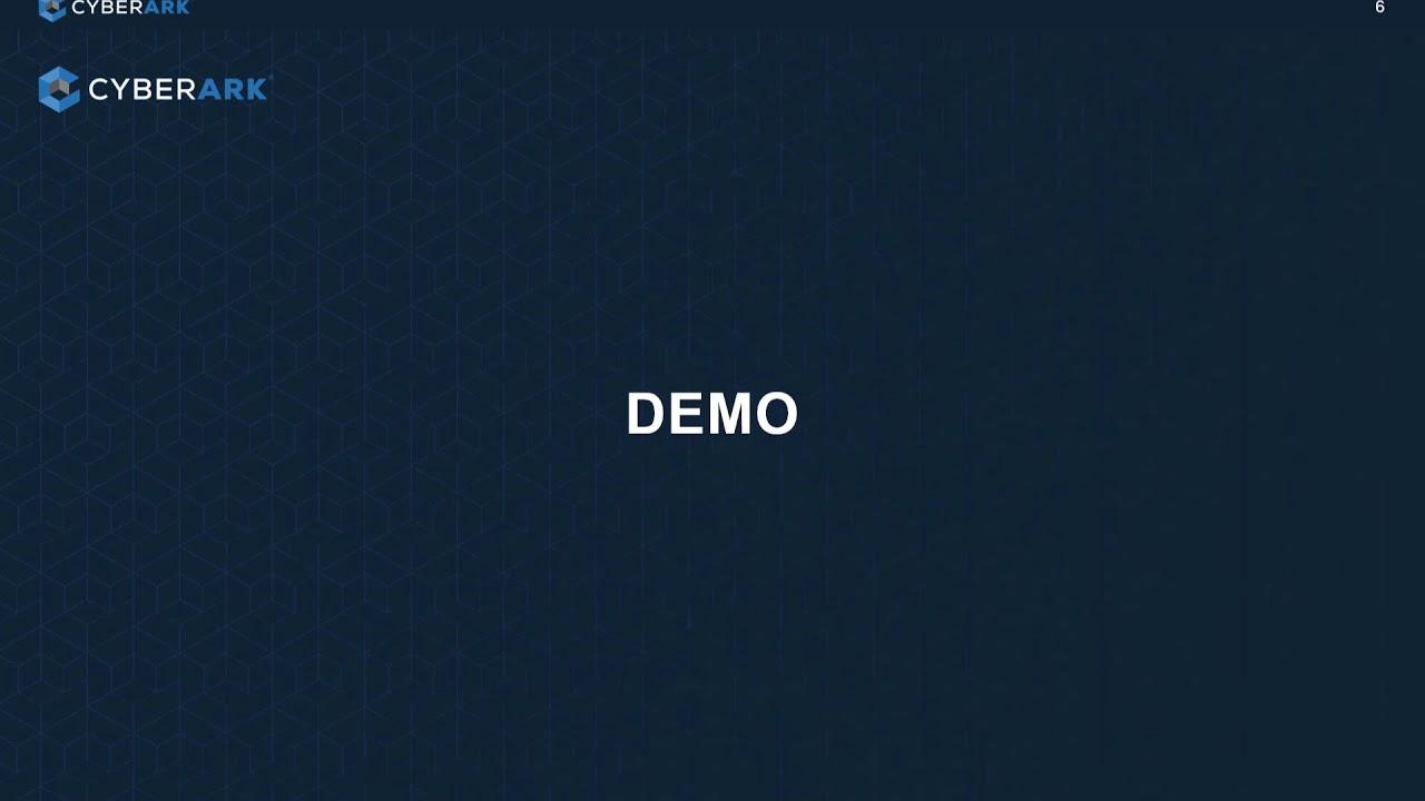 CyberArk Conjur CICD Demo