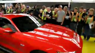 2015 Mustang Production Begins