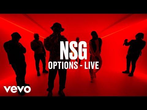 NSG - Options (Live) | Vevo DSCVR
