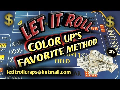craps-betting-strategy---color-up's-favorite-strategy