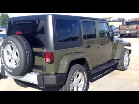 2015 Jeep Wrangler Unlimited Sahara New Color Tank YouTube