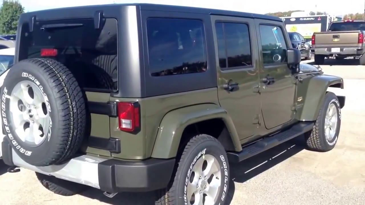 Amazing Jeep Wrangler New Color Tank   YouTube