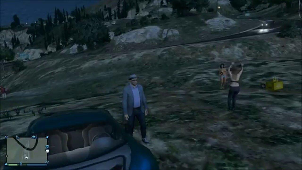Gta 5 Online Naked Girl Easteregg Grand Theft Auto V -1087