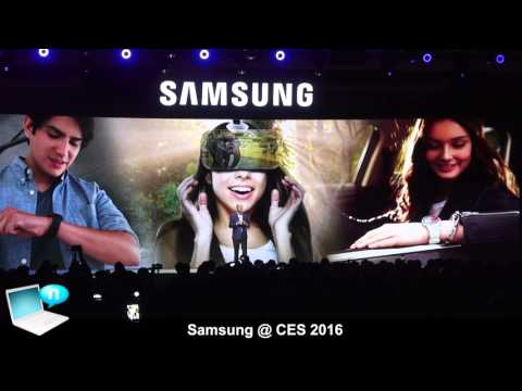 Samsung CES 2016 - Galaxy TabPRO S, Samsung Notebook 9 and Gear S2 Classic Rose Gold and Platinum