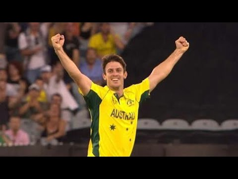Mitch Marsh Finest ODI Bowling Performance Against England Cricket