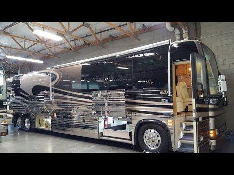 Tour A Million Dollar Luxury Bus!