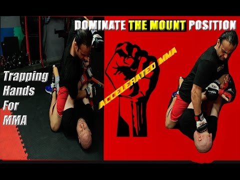 MMA Ground Fighting Strategies -  How to Use Trapping Hands From the BBJ Mount Position