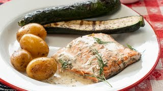 How to Make Grilled Salmon Packets for Camping | Sunset