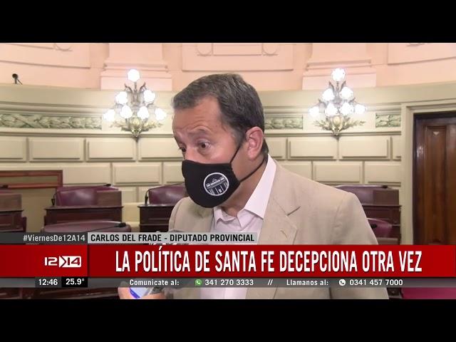 Del Frade pidió humildad al oficialismo y la oposición por el tema seguridad