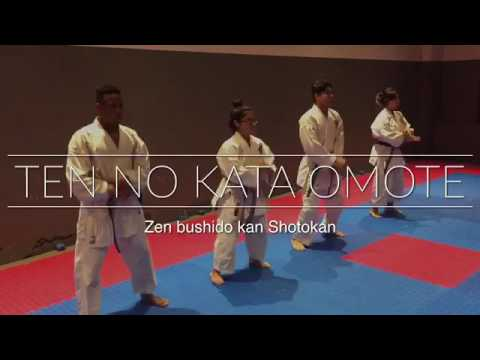 Ten no kata ( omote ) by ZEN BUSHIDO KAN SHOTOKAN