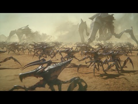 Starship Troopers: Traitor Of Mars - Battle Scenes (2017)